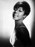 Diahann Carroll Portrait wearing White Dress Photo by  Movie Star News