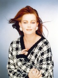 Belinda Carlisle Posed in Dress Portrait Photo by  Movie Star News