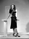Ann Rutherford wearing a Black Dress and Shoes Photo by  Movie Star News