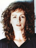 Bonnie Bedelia in Black Shirt Close Up Portrait Photo by  Movie Star News