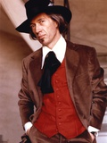 David Carradine Posed in Coat With Hat Photo by  Movie Star News