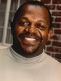 Charles Dutton smiling Close Up Portrait Photo by  Movie Star News