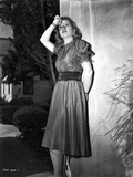 Barbara Bel-Geddes on a Dress and posed Photo by  Movie Star News