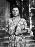 Anna Magnani wearing a Floral Wraparound Dress Photo by  Movie Star News
