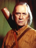 David Carradine Posed in Brown Coat Photo by  Movie Star News
