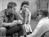 Baby The Rain Must Fall Three People Looking Serious in Black and White Photo by  Movie Star News