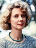 Blythe Danner wearing Blue Necklace Close Up Portrait Photo by  Movie Star News