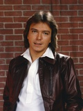 David Cassidy Posed in Brown Jacket Photo by  Movie Star News