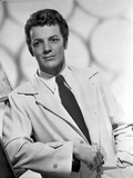 Cornel Wilde Posed in White Suit with Black Neck Tie Photo by  Movie Star News