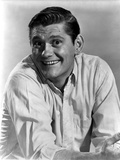 Dick York in White long sleeve Close Up Portrait Photo by  Movie Star News