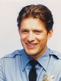 Costas Mandylor smiling in Police Outfit Photo by  Movie Star News