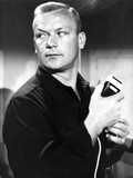 Aldo Ray Posed in Black Suit Photo by  Movie Star News