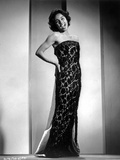 Diahann Carroll Posed in Black Dress Photo by  Movie Star News