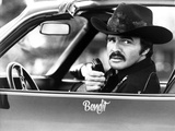 Burt Reynolds Posed in Cowboy Suit With Walkietalkie Photo by  Movie Star News
