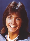 David Cassidy Posed in Blue Coat Photo by  Movie Star News