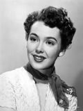 Black and White Portrait of Barbara Rush in Portrait Photo by  Movie Star News
