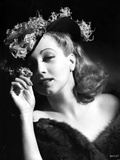 Ann Sothern wearing a Hat and A Furry Dress Photo by  Movie Star News