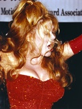Charo Portrait in Red Gown Photo by  Movie Star News