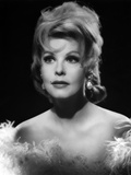 Arlene Dahl Portrait Elegant Dress with Silver Earrings Photo by  Movie Star News