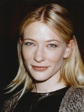 Cate Blanchett smiling in Close Up Photo by  Movie Star News