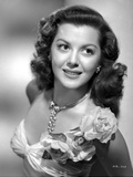 Ann Rutherford wearing a Dress with Flower on the Shoulder Photo by  Movie Star News