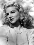 Claire Trevor in White with White Background Photo by  Movie Star News