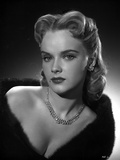 Anne Francis Close Up Portrait with Silver Necklace and Earrings Photo by  Movie Star News