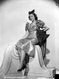 Ann Rutherford Seated in Classic Photo by  Movie Star News