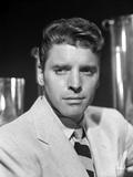 Burt Lancaster wearing a Printed Necktie Photo by  Movie Star News