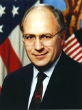 Dick Cheney Portrait in Black Coat Photo by  Movie Star News