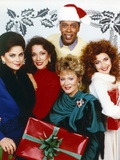Designing Women Christmas Theme Group Picture Photo by  Movie Star News