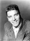 Burt Lancaster wearing a Printed Suit and Tie, and smiling Photo by  Movie Star News
