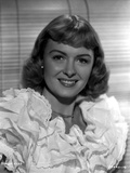 Donna Reed on a Ruffled Dress Portrait Photo by  Movie Star News