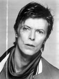 David Bowie Posed in Jacket Portrait Photo by  Movie Star News