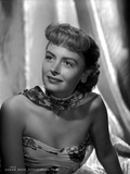 Donna Reed on a Printed Tube Photo by  Movie Star News