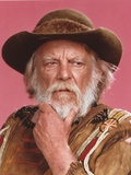 Denver Pyle Close Up Portrait wearing Brown Jacket Foto af  Movie Star News