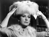 Deborah Kerr Touching Her Furry Hat Photo by  Movie Star News