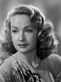 Bonita Granville on a Printed Top Portrait Photo by  Movie Star News