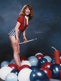 Dana Plato Posed in Jumper Outfit Photo by  Movie Star News