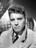 Burt Lancaster wearing a Trench Coat Photo by  Movie Star News