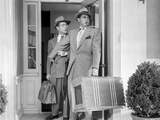 Behave Yourself Two Men Holding Luggage Scene Photo by  Movie Star News