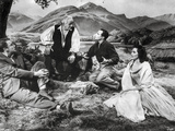 Brigadoon Excerpt Men and Woman sitting Under the Tree Photo by  Movie Star News