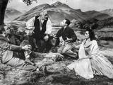 Brigadoon Excerpt Men and Woman sitting Under the Tree Photo by  Movie Star News
