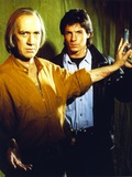 David Carradine With Cast Member Photo by  Movie Star News