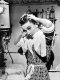 Audrey Hepburn Washing Hair Portrait Photo by  Movie Star News