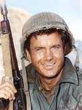 Cliff Robertson as Soldier With Rifle Close Up Portrait Photo by  Movie Star News