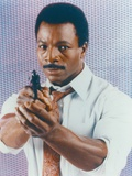 Carl Weathers Portrait in White Long Sleeves Photo by  Movie Star News