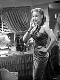 Anne Francis Calling in Classic Photo by  Movie Star News