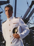 David James Elliott in Navy Uniform Portrait Photo by  Movie Star News