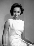 Diahann Carroll Portrait in White Dress Photo by  Movie Star News